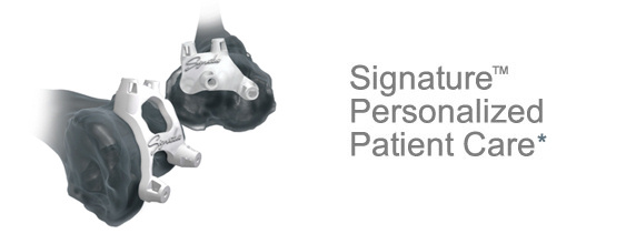 ハイテクの人工膝関節手術が可能になった!