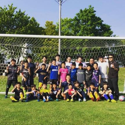 小林病院整形外科 岩田卓也のサッカー教室
